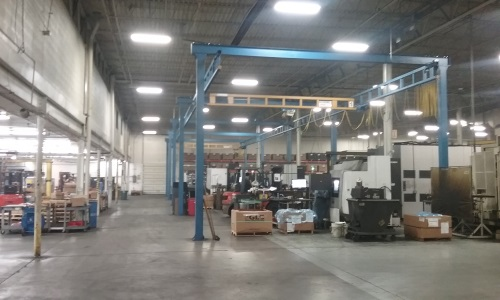 V & L Tool Production Floor